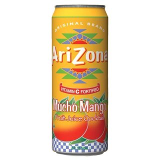 Arizona Mucho Mango with all natural flavours (24x 680ml)
