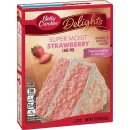 Betty Crocker - Super Moist - Strawberry Cake Mix - 1 x...