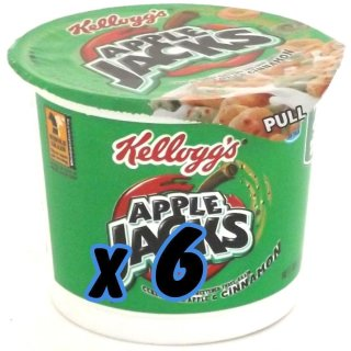 Kelloggs Apple Jacks Cup (6x42g)
