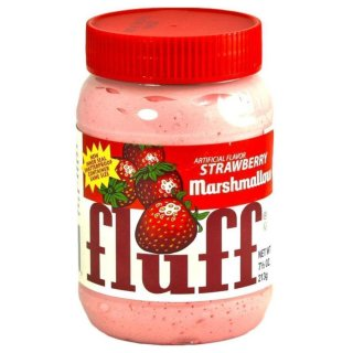 Fluff Marshmallow Creme Strawberry (213g)
