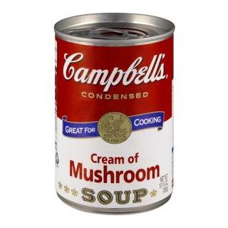 Campbells - Cream of Mushroom Soup - 1 x 298g