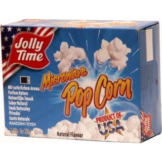 Jolly Time Microware Popcorn Natural Flavor (3x100g)
