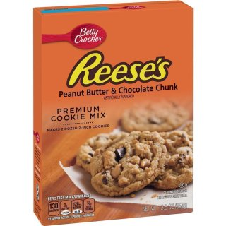 Betty Crocker - Reeses Peanut Butter & Chocolate Chunk Cookie Mix - 1 x 354 g