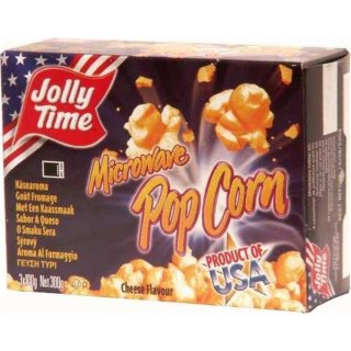 Jolly Time Microware Popcorn Cheese Flavor (3x100g)