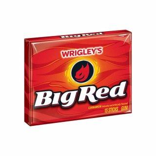 Wrigleys Big Red - Zimt Kaugummi - 1 x 15 Stück