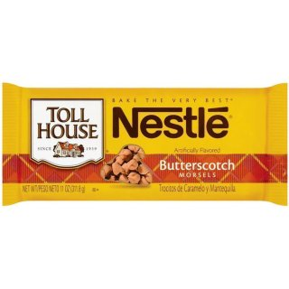 Nestle - Toll House Butterscotch Morsels - 1 x 311,8 g