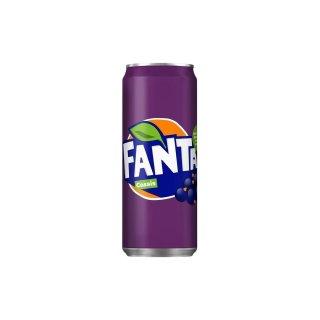 Fanta - Cassis - 1 x 330 ml