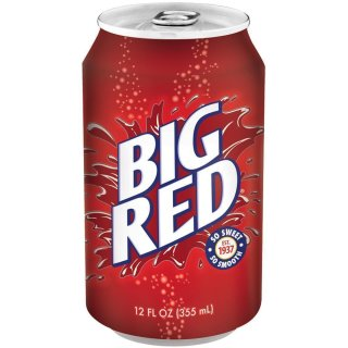 Big Red Soda 12 x 355 ml