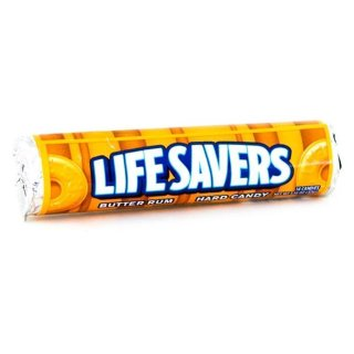 Lifesavers Butter Rum Hard Candy (1x32g)