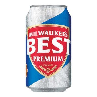 MILWAUKEES BEST Premium Beer 24 x 355ml