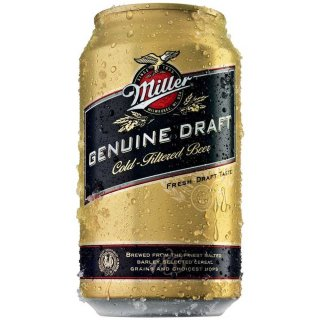 Miller - Genuine Draft - 12 x 355 ml (Dose)