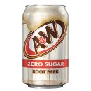 A&W -  Root Beer DIET -  12 x 355 ml