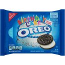 Oreo Birthday Cake Flavor Creme Chocolate Sandwich...