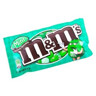 M&Ms - Mint/Dark Chocolate (1x 42,5g)