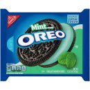 Oreo - Mint Creme Chocolate Sandwich  Cookies - 1 x 432g