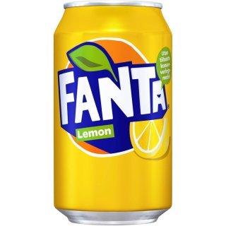 Fanta - Lemon - 1 x 330 ml