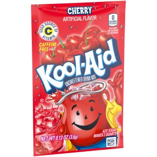 Kool-Aid Drink Mix - Cherry - 1 x 3,6 g