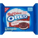 Oreo - Red Velvet Cream Cheese Sandwich Cookies - Limited...