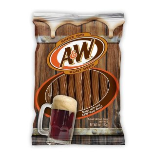 A & W Root Beer - Candy Twists (142g)