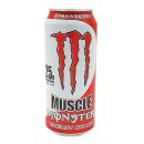 Monster USA Muscle Energy Shake - Strawberry 24 x 443 ml