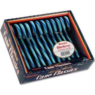 Spangler Blueberry Candy Canes (170g)