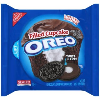 Oreo filled Cupcake Cookies - Limited Edition - (303g)