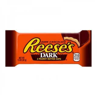 Dark Reeses 2 Peanut Butter Cups - 1 x 42g